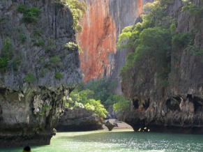 Phang Nga in the setting sun
