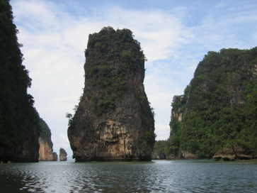 The giants of Phang Nga bay
